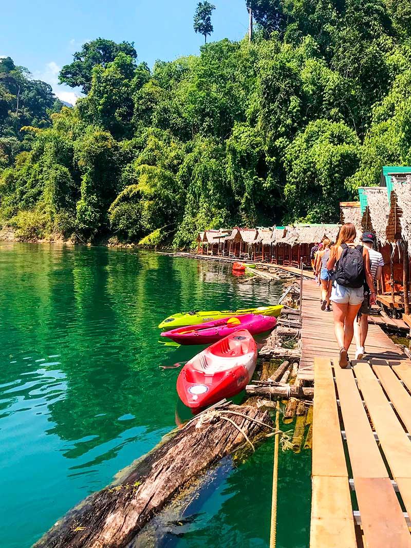 Cheow Lan Lake - Khao Sok Thailand