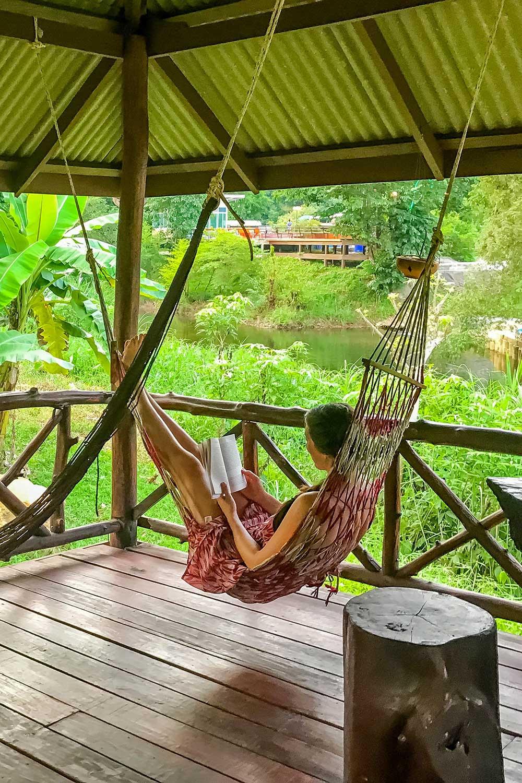 Khao Sok safari - relaxing