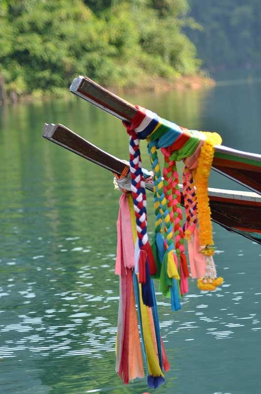 Cheow Lan Lake tour - boat