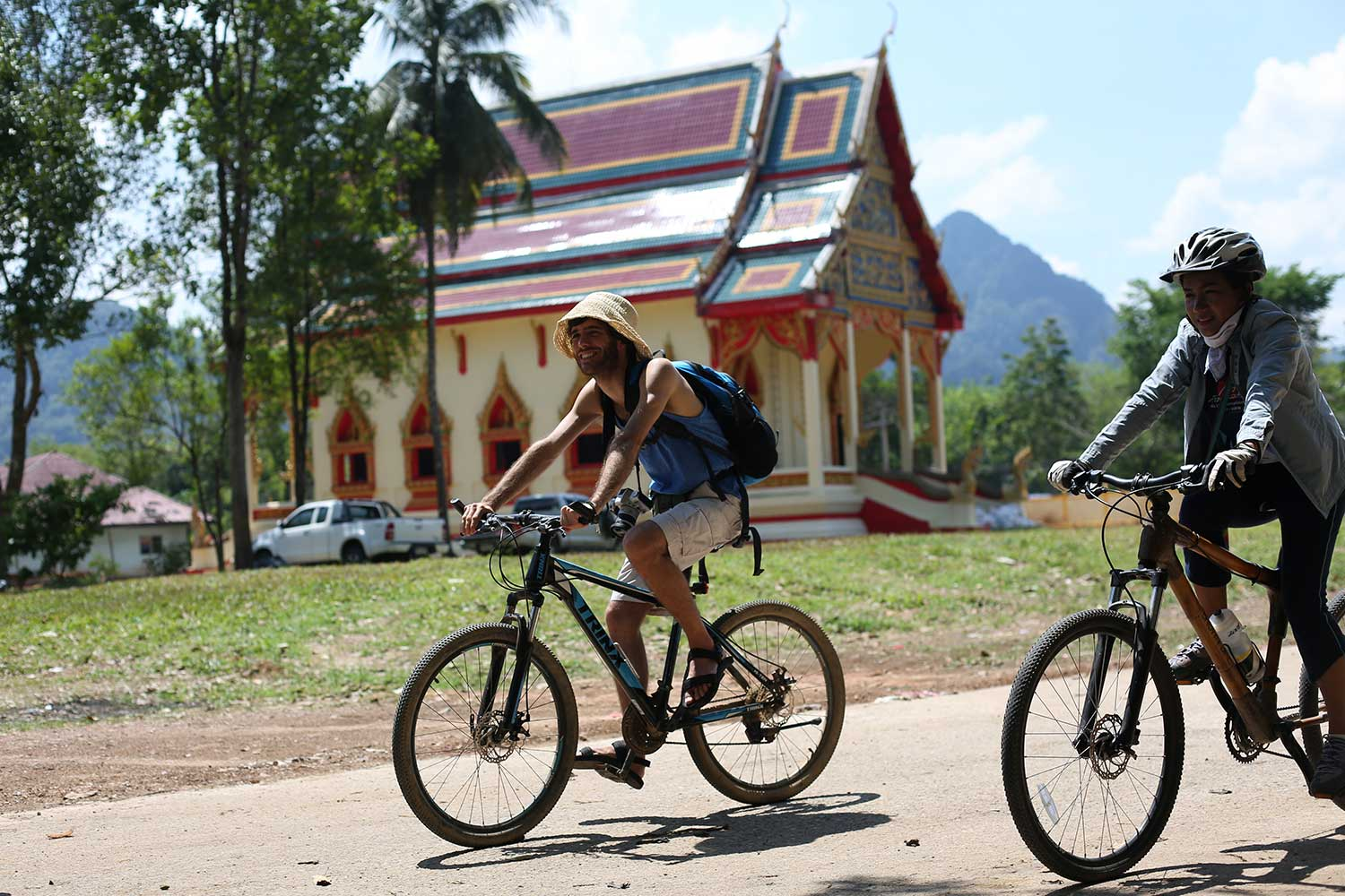 Special Khao Sok tours - Bike ride
