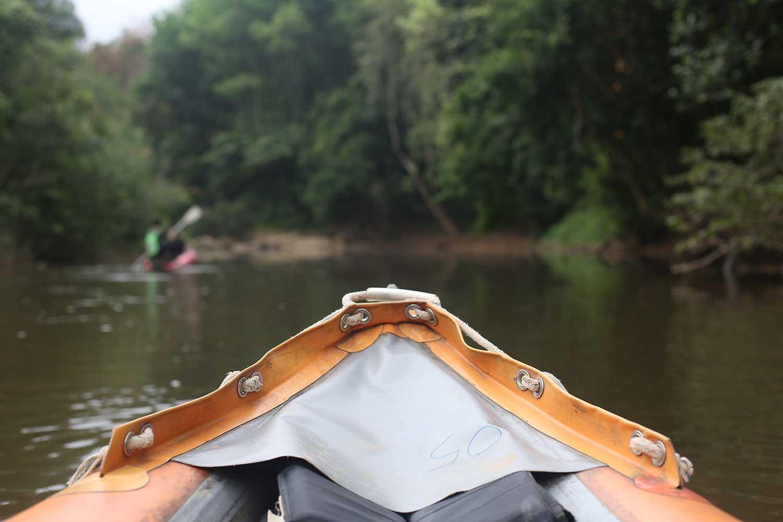 River Sok canoe trip